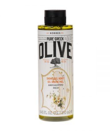 Korres Pure Greek Olive Αφρόλουτρο Μέλι 250ml