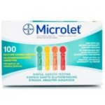 Bayer Microlet Αποστειρωμένοι σκαρφιστήρες 100τμχ