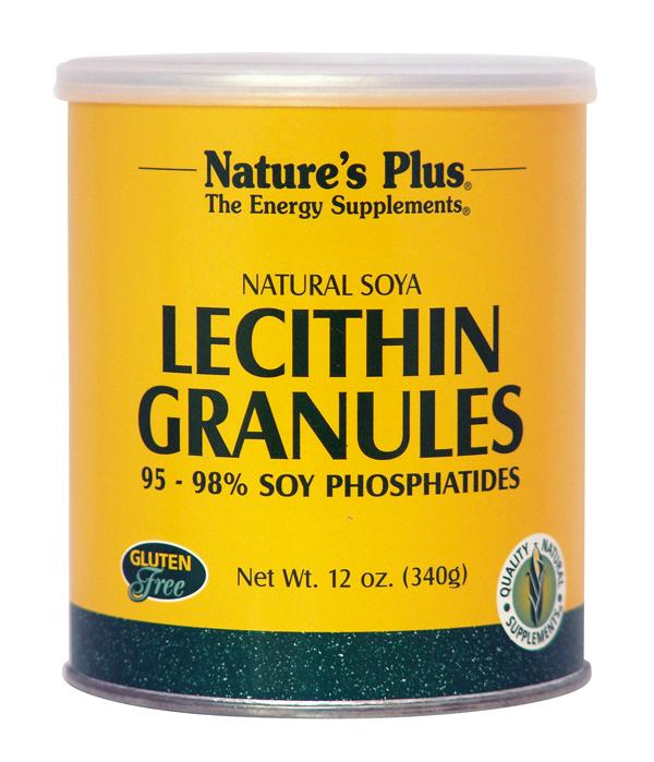 Nature's Plus Lecithin Granules 340gr Λεκιθίνη σε κόκκους