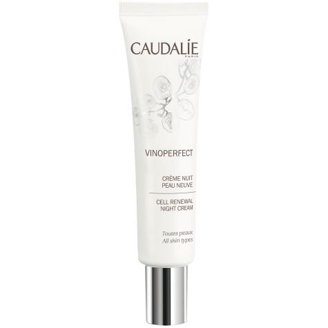 Caudalie Vinoperfect Cell Renewal Night Cream 40 ml-Θρεπτική κρέμα για διόρθωση πανάδων