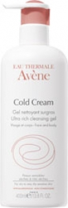 Avene Cold Creme Gel nettoyant surgras 400ml