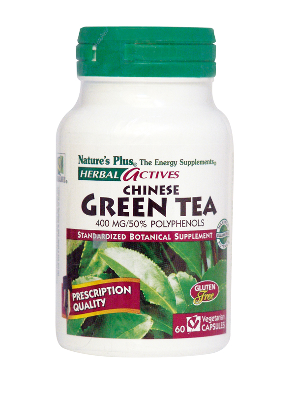 Nature's Plus Green tea (Chinese) 400mg 60 vcaps Πράσινο τσάι