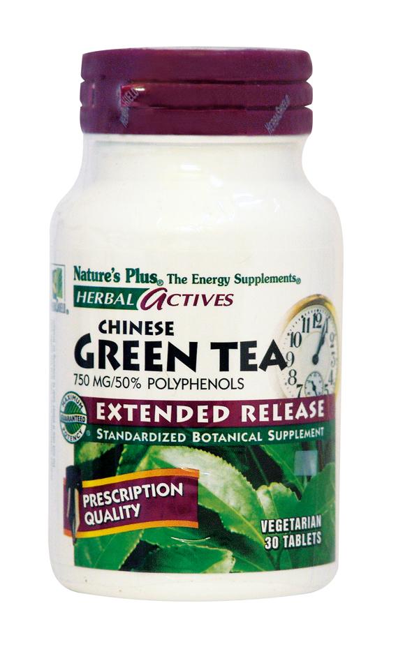 Nature's Plus Green tea 750mg 30tabs Πρασινο τσάι