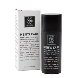 Apivita Men's care κρέμα - gel ενυδάτωσης προσώπου