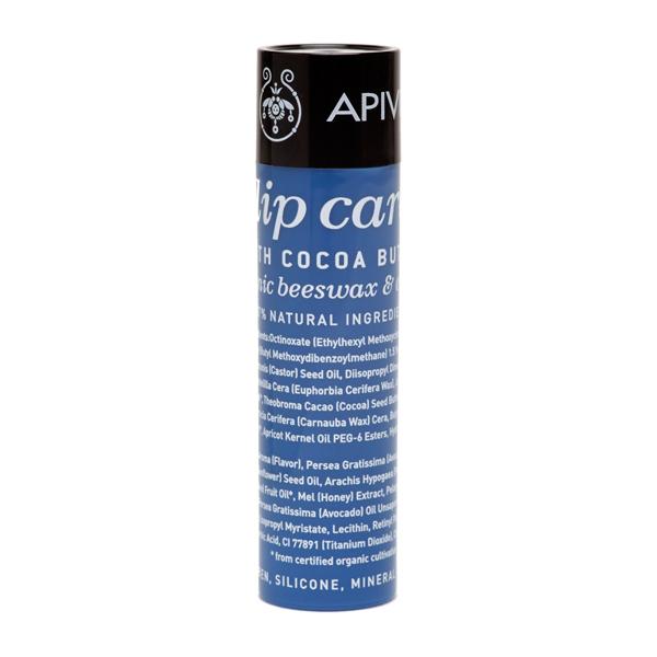 Apivita Lip care Cocoa Butter SPF20 Φροντίδα χειλιών με βούτυρο κακάο χωρίς χρώμα  4.4gr