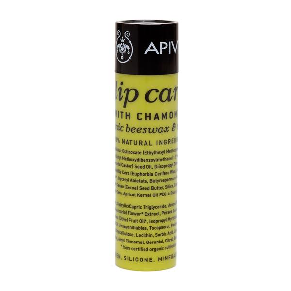Apivita Lip care Chamomile SPF15 Φροντίδα χειλιών με χαμομήλι 4.4gr