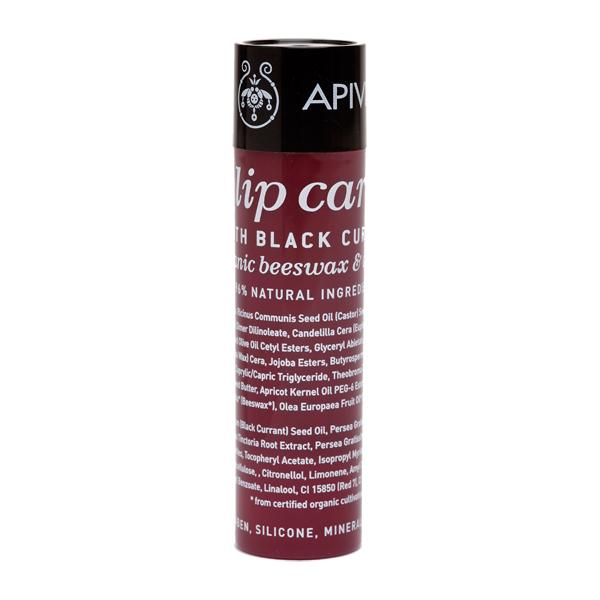 Apivita Lip care Black Currant Φροντίδα χειλιών με φραγκοστάφυλο 4.4gr
