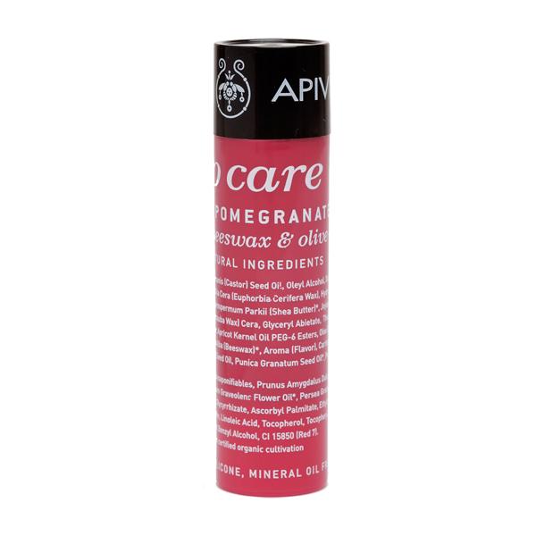 Apivita Lip care Pomegranate Φροντίδα χειλιών με ρόδι 4.4gr