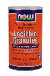 Nowfoods Lecithin granules 1lb(454g) non GMO Λεκιθίνη σε σκόνη