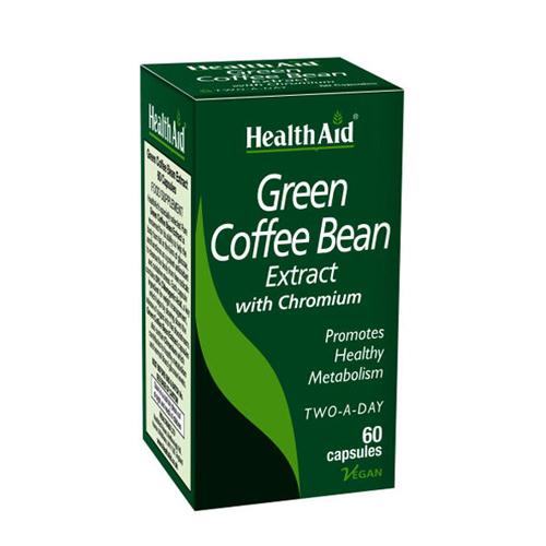 Health Aid Green Coffee Bean Εκχύλισμα Πράσινου Καφέ