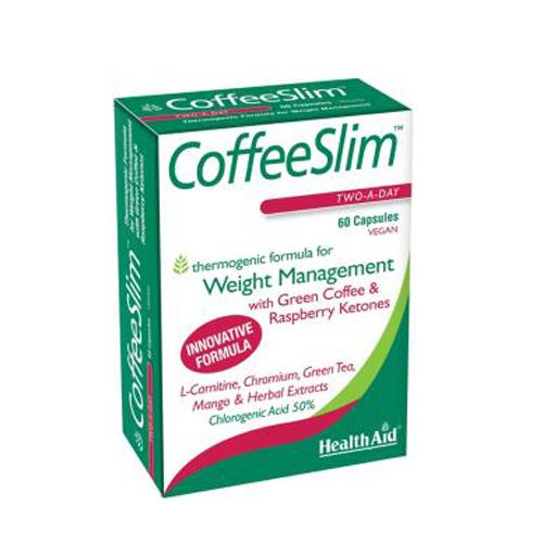 Health Aid Coffee Slim 60vecaps Πράσινος καφές για αδυνάτισμα