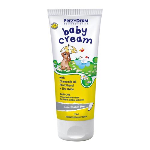 Frezyderm Baby cream 175ml Προστατευτική και αδιάβροχη κρέμα για την αλλαγή της πάνας