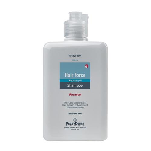 Frezyderm Hair Force Shampoo women 200mlΤριχοτονωτικό σαμπουάν για γυναίκες
