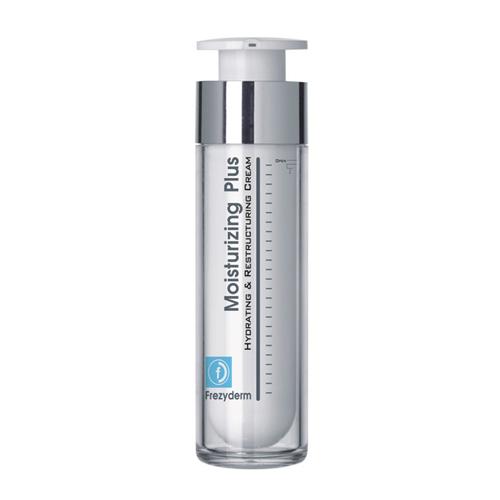 Frezyderm Moisturizing Plus (30+) 50ml Κρέμα εντατικής ενυδάτωσης για το πρόσωπο και το λαιμό με πλούσια, μη λιπαρή υφή