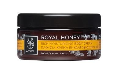 Apivita Royal honey 200ml Πλούσια κρέμα ενυδάτωσης σώματος