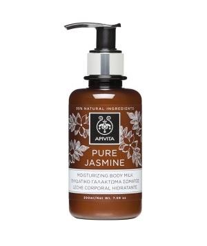 Apivita Pure Jasmine moisturizing Body milk 200ml Ενυδατικό γαλάκτωμα σώματος