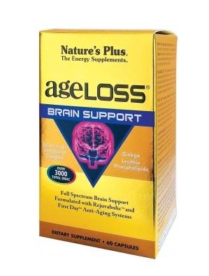 Nature's Plus Ageloss Brain support 60caps