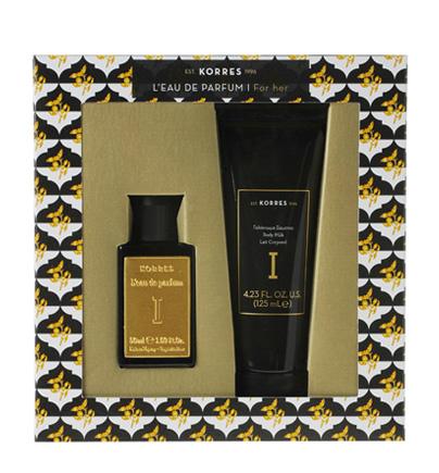 Korres Eau De Parfum I 50ml & Δώρο Body Milk I 125ml