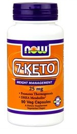 Nowfoods 7-Keto 25mg 90caps ? Για αύξηση μεταβολισμού και απώλεια βάρους