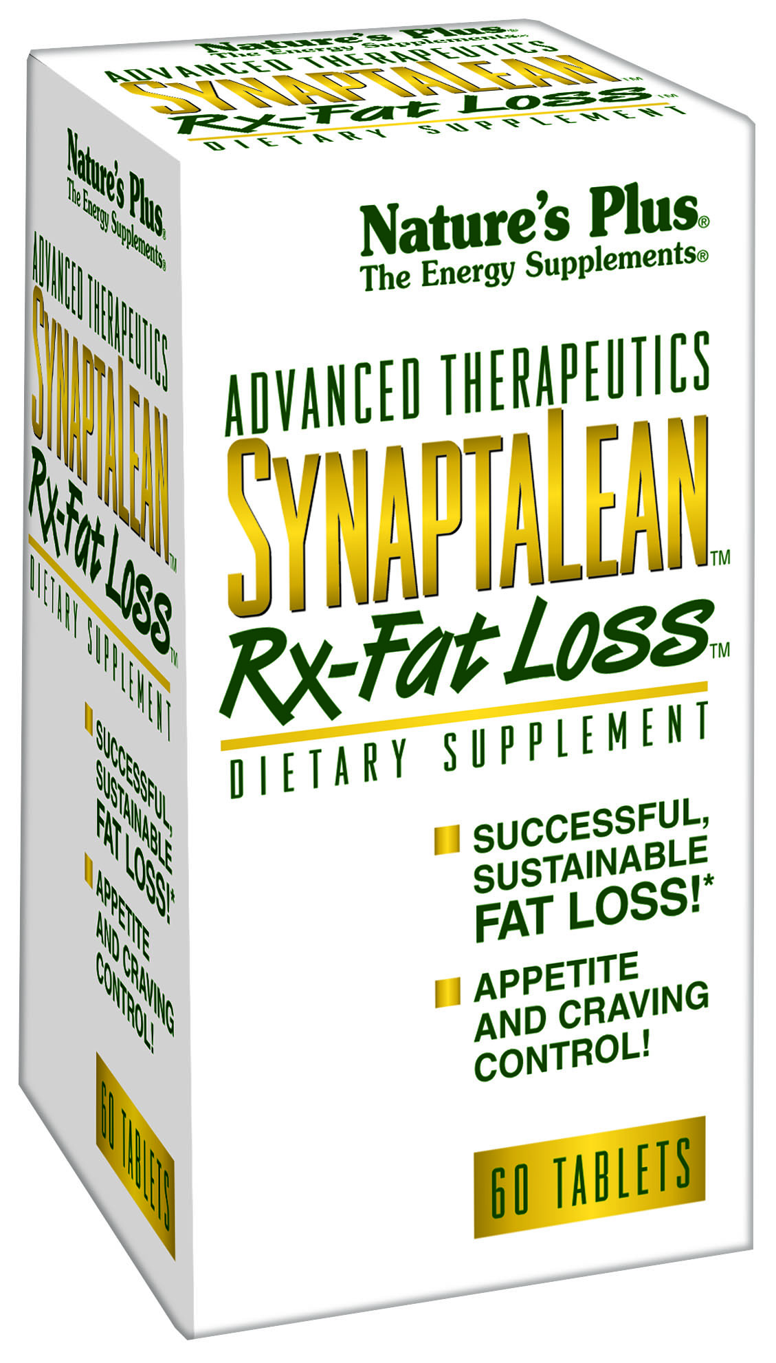 Nature's Plus Synaptalean Rx-fat loss 60tabs Φόρμουλα αδυνατίσματος
