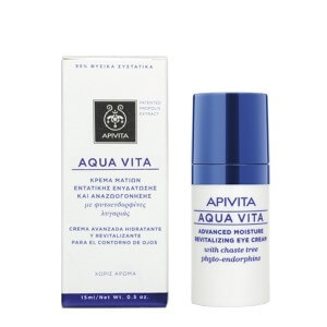 Apivita Aqua vita advanced moisture revitalizing eye cream with chaste tree phyto-endorphines 15ml