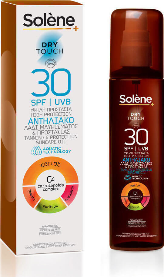 Solene Dry Touch Oil PSF30 150ml